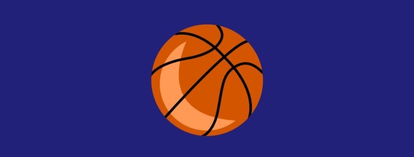 Illustration of a basketball