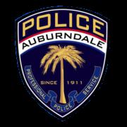 Logo of the Auburndale Police Department
